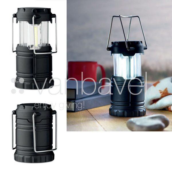 Uitschuifbare COB campinglampt