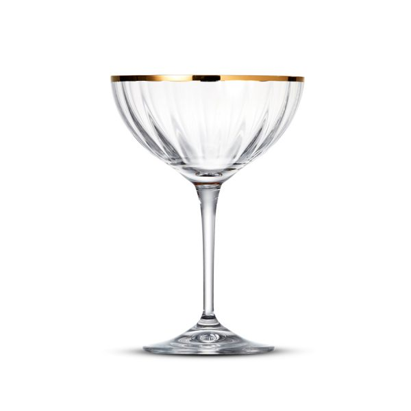 Champagnecoupe 21cl Romance Gold Rim - 6 st.