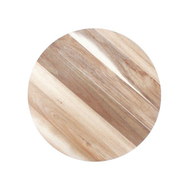 Draaiplateau 38.5cm rond Wood&Food