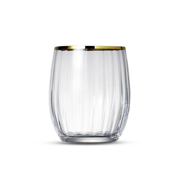 Drinkglas 30cl Romance Gold Rim - 6 st.
