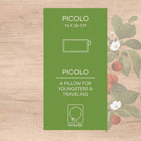 Kersenpitkussen: Kersepitje Picolo