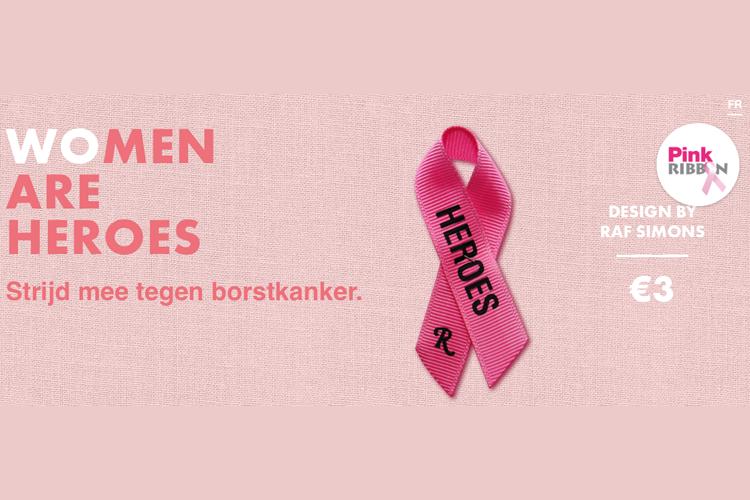 Keiretsu Belgium levert lintje Pink Ribbon