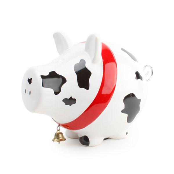 Spaarvarken cow Oink
