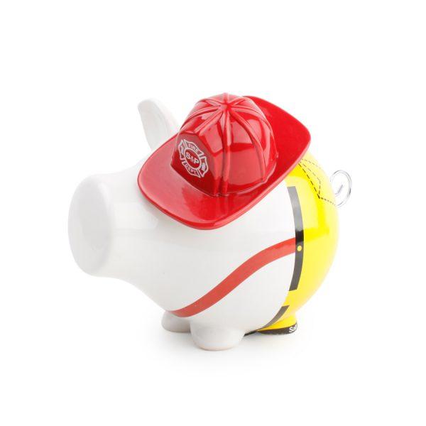 Spaarvarken fireman Oink