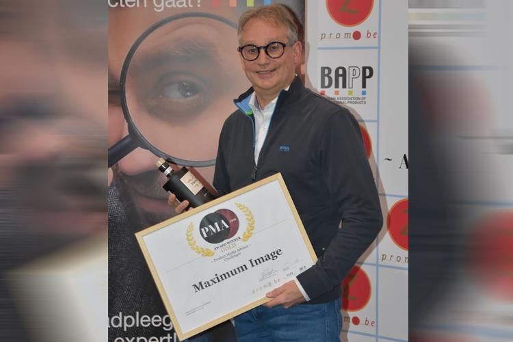 PMA Challenger Award 2018 Maximum Image uitreiking