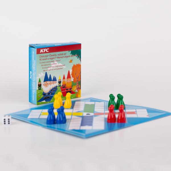 Promotioneel Minibordspel, Mens erger je niet