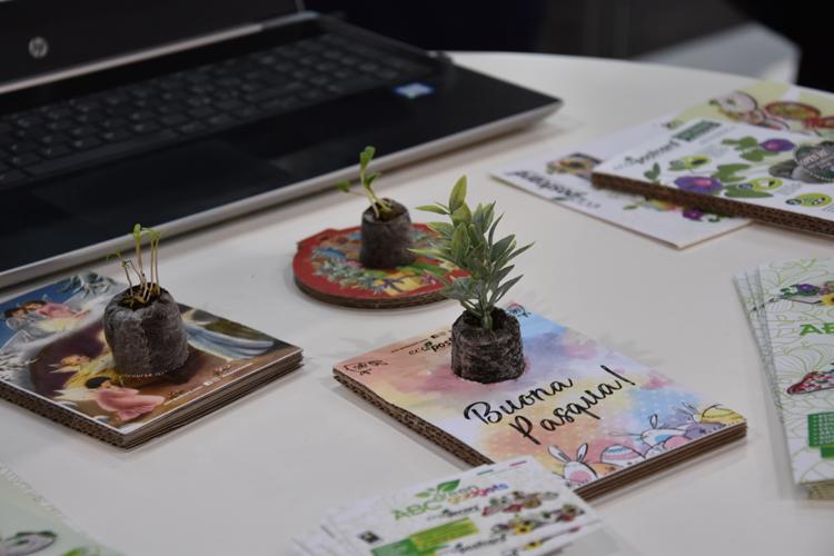 Promo-idee plantjes in de post