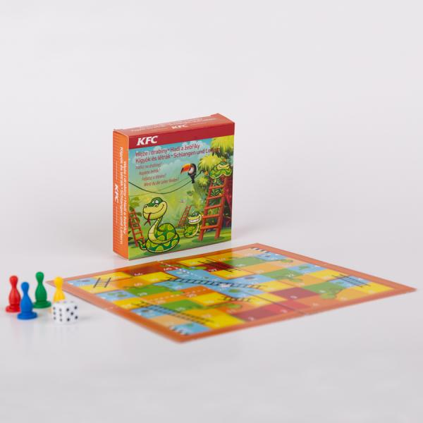 Promotioneel Minibordspel, Slangen en Ladders