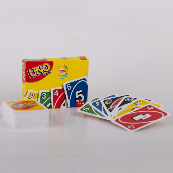 Promotioneel kaartspel – Uno van Mattel