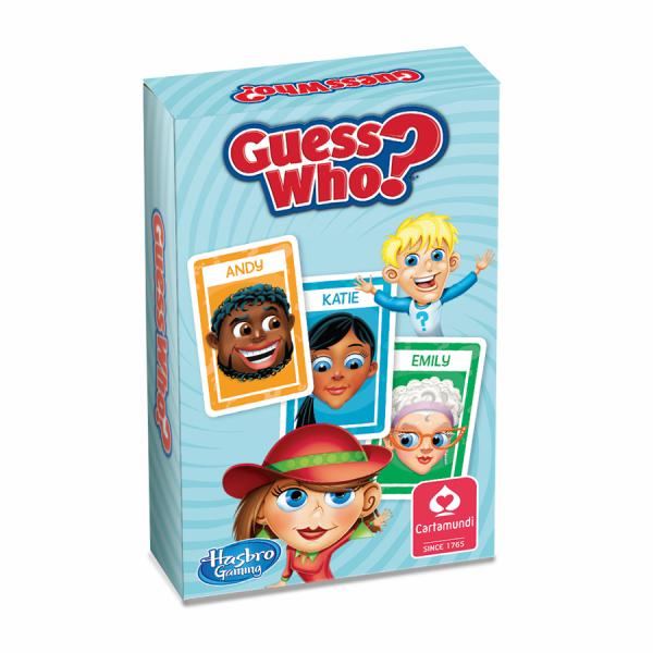 Promotioneel kaartspel – Wie is het? Van Hasbro