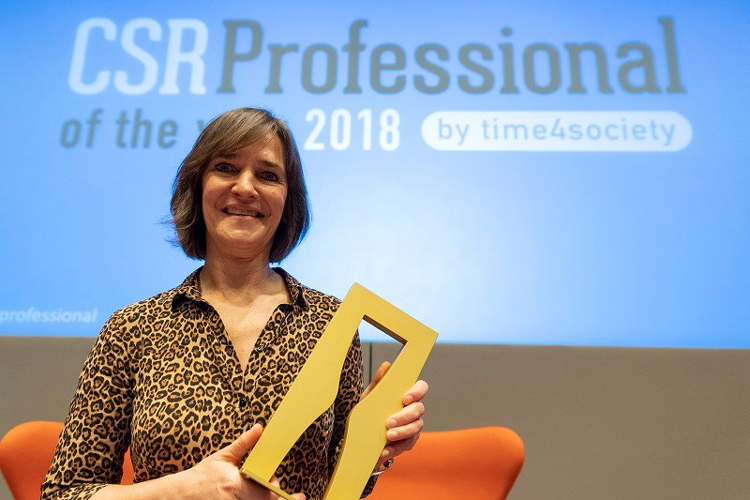 Ann Claes en Pascal Léglise CSR Professionals of the Year 2018!