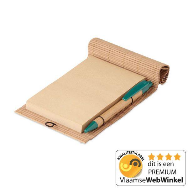 Bamboe bureauset
