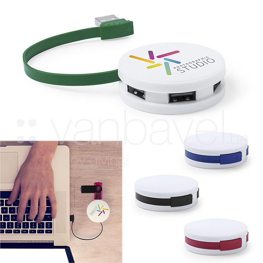 Hub USB compact avec 4 ports USB 2.0