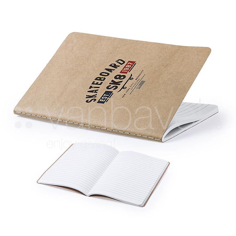 Cahier A5 eco avec couverture en carton