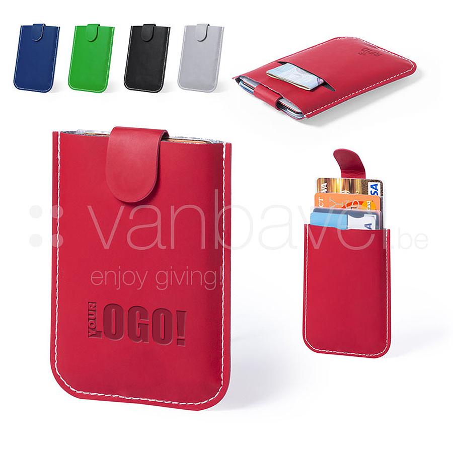 Porte-cartes avec technologie de sécurité RFID
