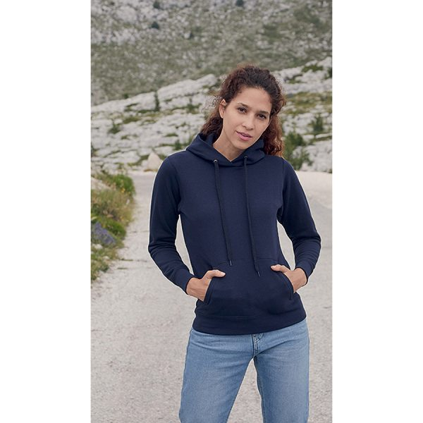 Ladies Classic Hooded Sweat Fruit of the Loom