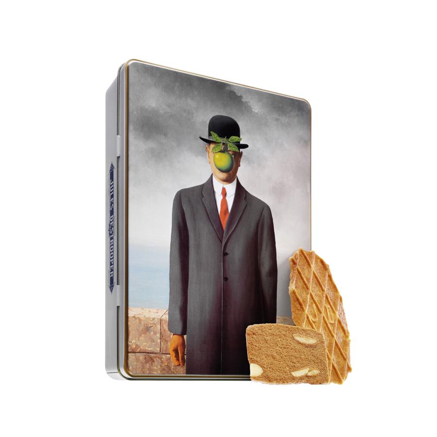 Biscuits Jules Destrooper Boîte métallique Magritte 350g