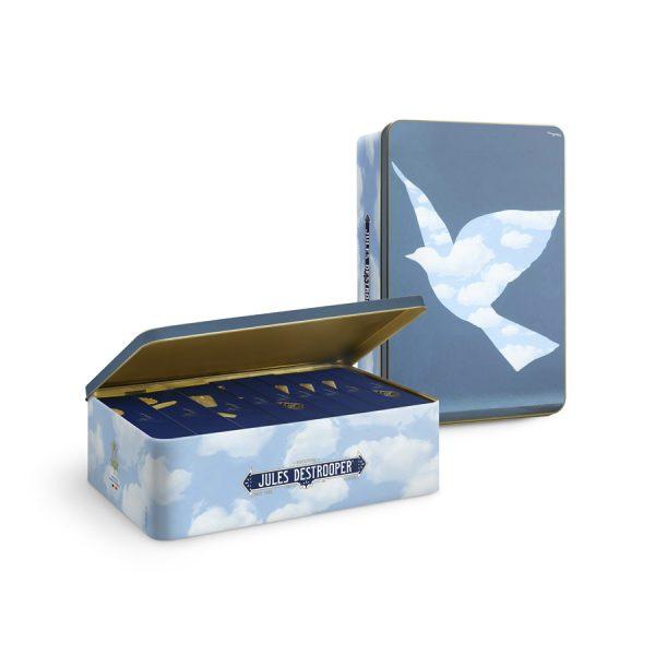 Assortiment biscuits Jules Destrooper Boîte métallique Magritte XL 1070g