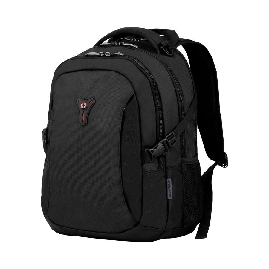 Wenger, Sidebar 16 Computer Backpack w/Tablet, Black