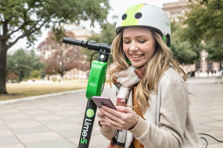 Lime geeft gratis helmen