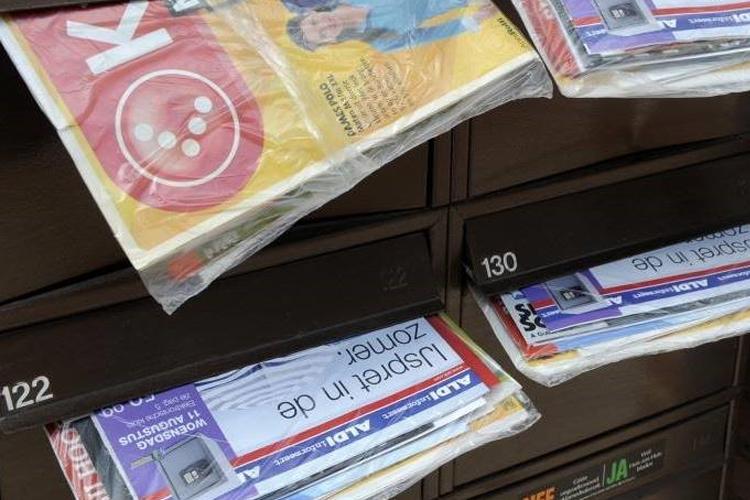 Nederland 81 van folderlezers wordt geactiveerd