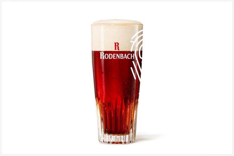 Rodenbach 25.000 Molglazen en 10 'gemolde glazen'