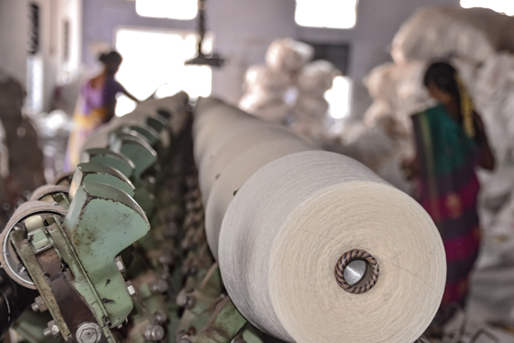 Special Things derde productie-eenheid Indiase katoenfabriek
