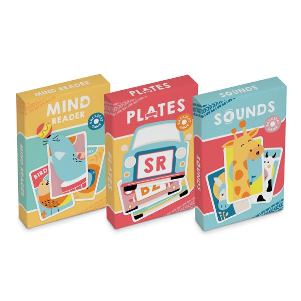 BACKSEAT GAMES fast, fun, easy en met uw logo
