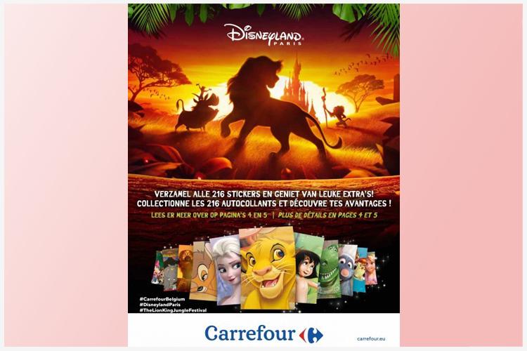 Carrefour duurzame Disney-actie succesvol