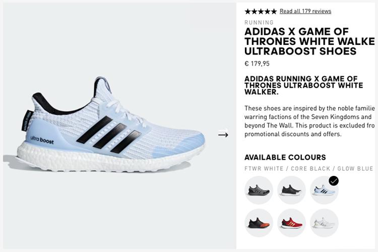 Game of Thrones Merchandising Adidas
