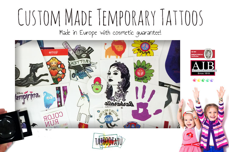 Promotional tattoos for kids