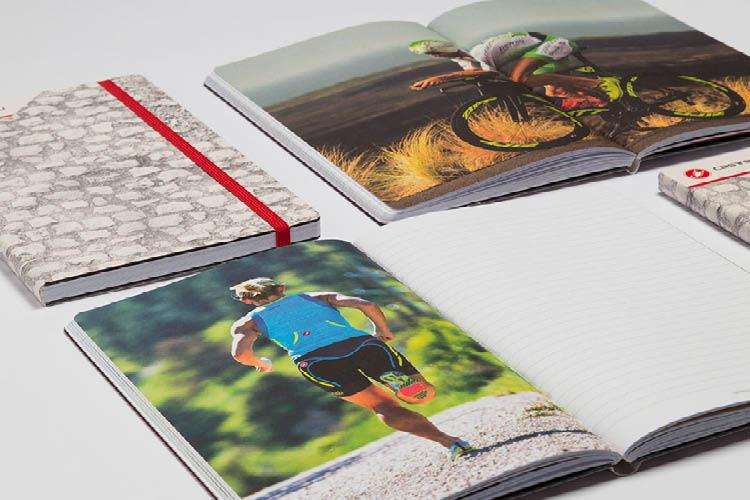 Stifflexible notebooks en agenda's volledig gepersonaliseerd op maat