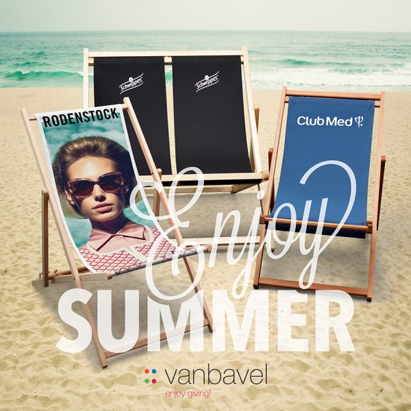 Summer beach chairs Van Bavel