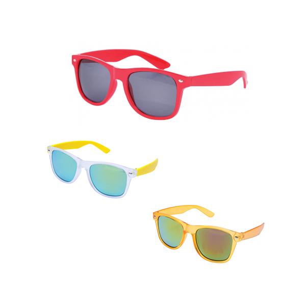 Zonnebrillen in eigen kleur en met bedrukking