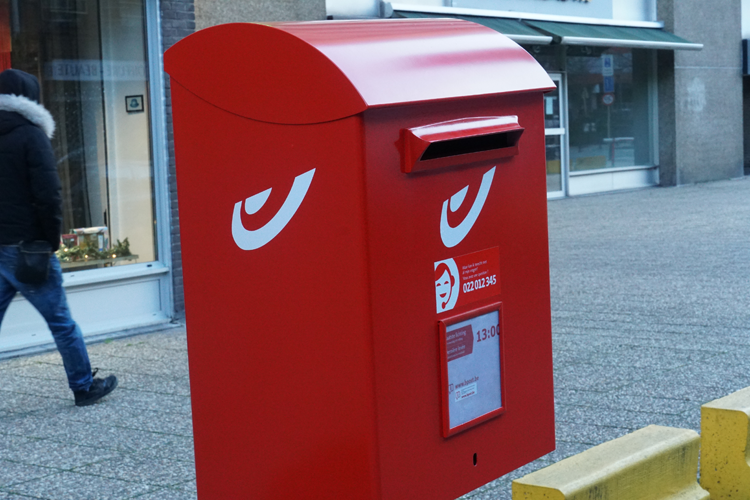 bpost omzet 'advertising mail' daalt in eerste kwartaal