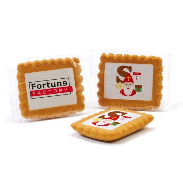 Groot gingerbread koekjes met logo