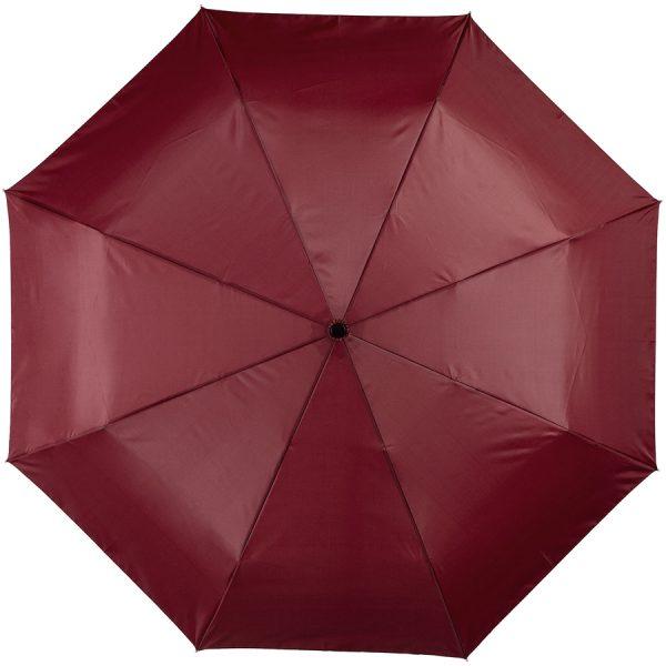 Alex 21.5 inch 3 sectie automatische paraplu met bedrukking