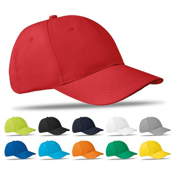Bedrukte baseball caps van Mainsales Europe