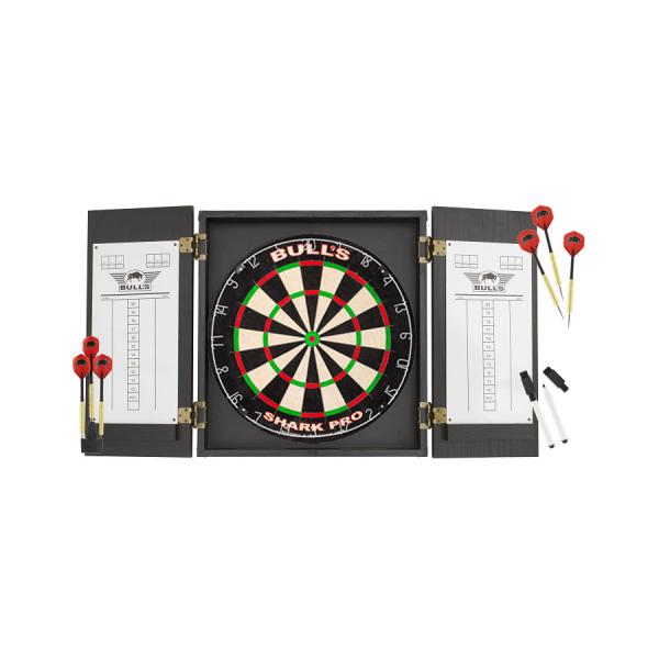 Bull's Classic Cabinet Dartboard Pro Set