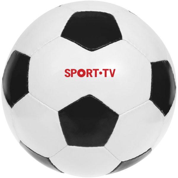 Curve voetbal met bedrukking