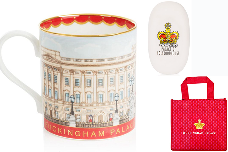 Royal collection merchandising