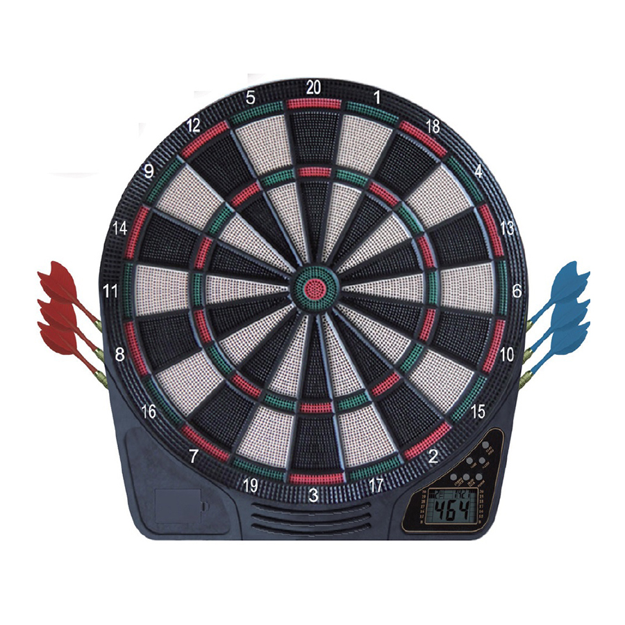 Shot Wildcard Softtip Electronic Dartboard