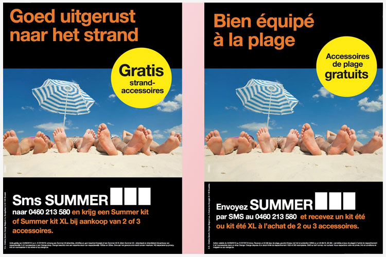 Orange-Summe-kit