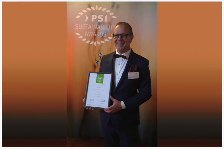 Van Bavel: brons bij PSI Sustainability Awards