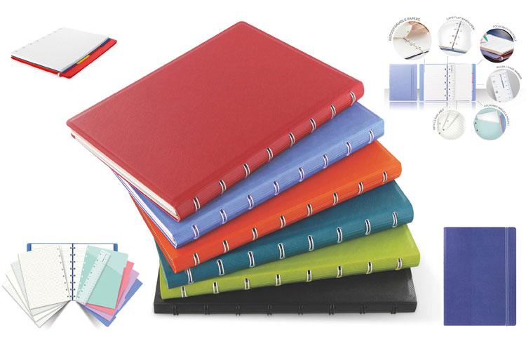 Filofax Notebooks. Herschik, verwijder en hervul