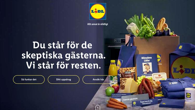 Lidl vraagt consumenten thuis een shop te openen