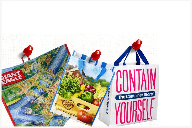 AdWeek ontdekt marketingkracht van herbruikbare boodschappentas...