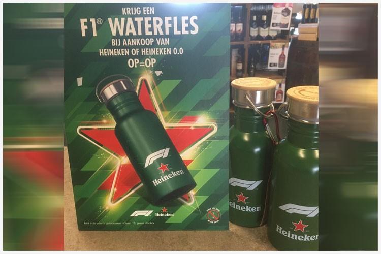 Nederland Heineken F1-drinkfles promo-product van het jaar