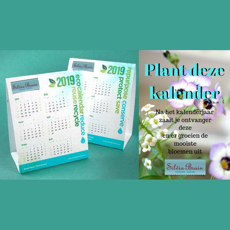 Duurzame eco kalender bedrukken