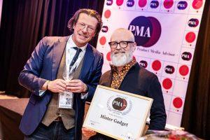 PMA awards Mister Gadget
